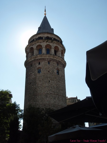 Stand tall - Galata tower of Istanbul, Turkey