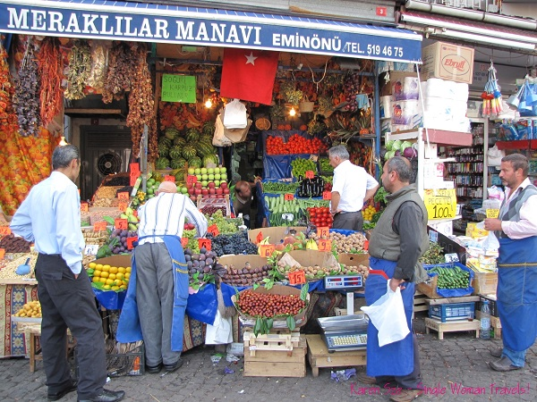 The abundance of delicious, fresh fruits - Istanbul, Turkey