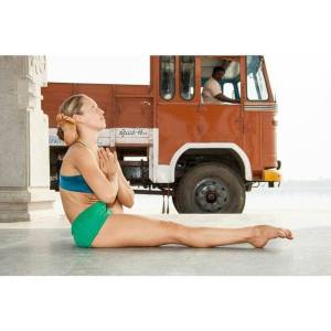 Amica Hilton, one of the yogis in the Mysore class who caused my jaw to drop. Photo credit: Downward Dog Yoga, Toronto, Canada