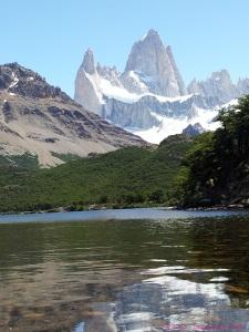 Cerro Mount Fitzroy Laguna Capri Patagonia Argentina