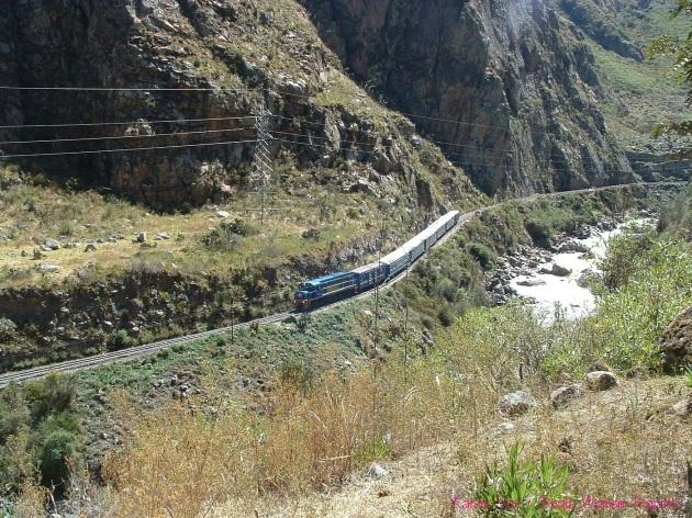 Machu Picchu Huayna Picchu train Inca trail Peru
