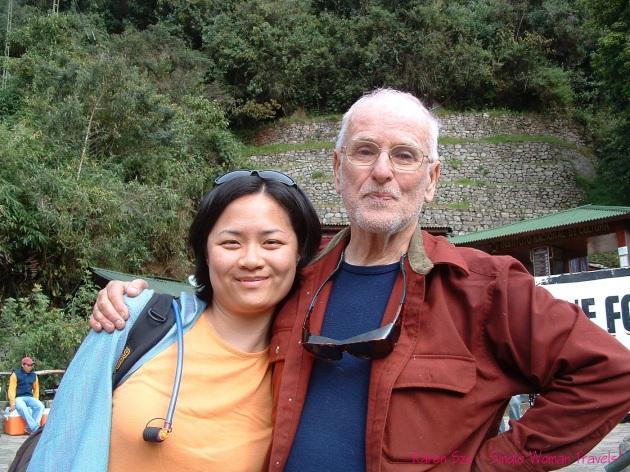 Inca trail hiking partner Peru