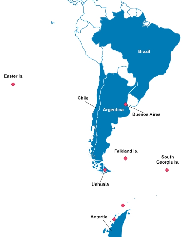 Epic Journey 2013 - Plan for South America and Antarctica