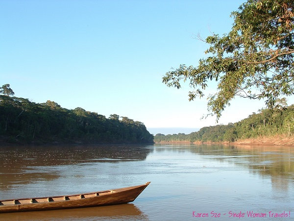 Take a journey together - Tambopata river, Amazon, Peru