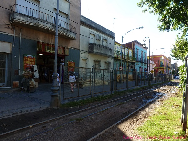 Wrong side of the Tracks in La Boca Argentina