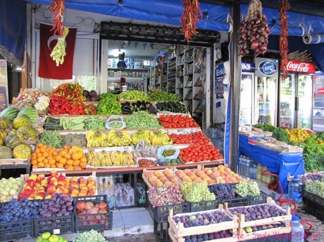 Fresh produce of Turkey