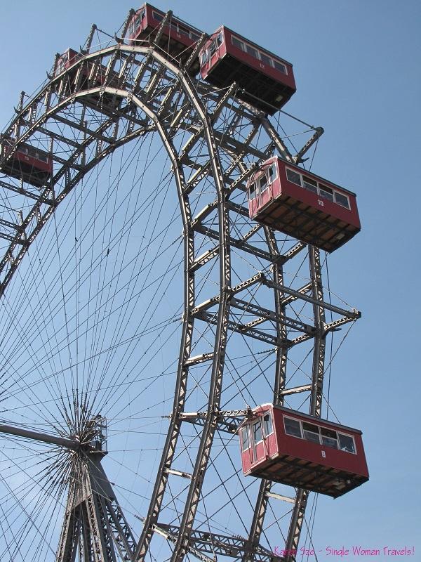 Giant Ferris Wheel at Prater, Vienna, Austria