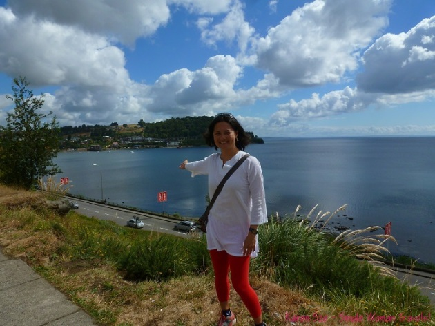 Puerto Varas waterfront where I met Ximena and her lovely family