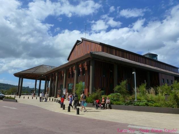 Teatro del Lago during their famous annual music festival in Frutillar Chile
