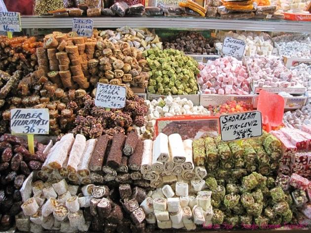 Turkish Delight inside the Grand Bazaar