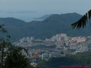 View of Penang from Sitavana Vihara 悉达林, Penang, Malaysia