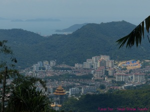 View of Penang from Sitavana Vihara 悉达林, Penang, Malaysia