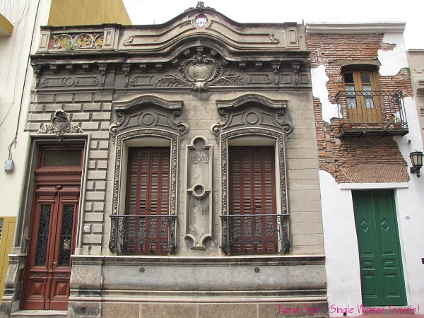Great architecture can be found in San Telmo, Agrentina