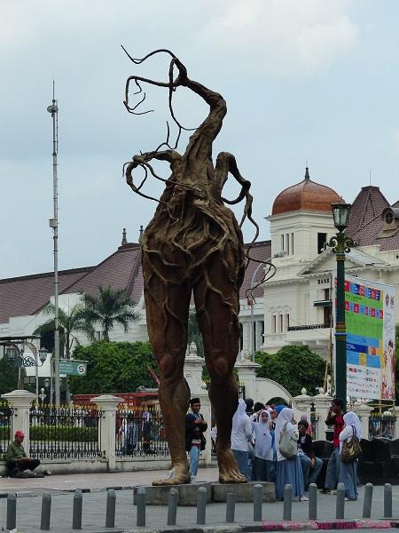 Jogja art festival 2013 in Jogyakarta, Indonesia