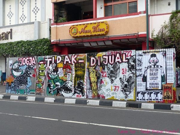 Jogyakarta art festival 2013 in Indonesia
