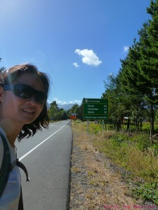 Karen Sze - Single Woman hitch hiking in Chile