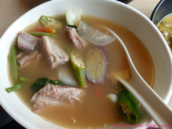 Sinigang na Baboy - Pork vegetable tamarind soup