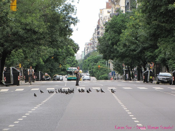 Street of Buenos Aires, Argentina