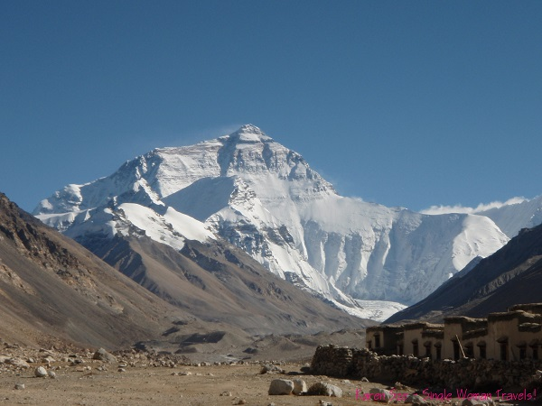 View of Everest from Tibet