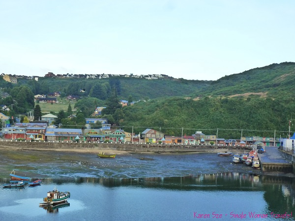 View of Puerto Montt, Chile