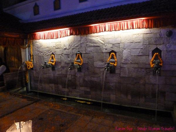 Diwali decorations in Kathmandu