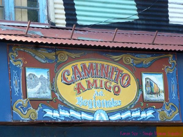 Fileteado Porteño - Caminito, Buenos Aires, Argentina