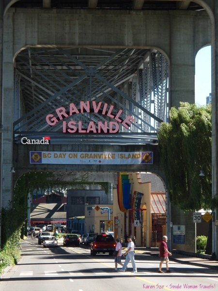 Granville Island of Vancouver