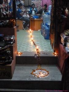 Kathmandu Diwali 2011 - Rangoli path