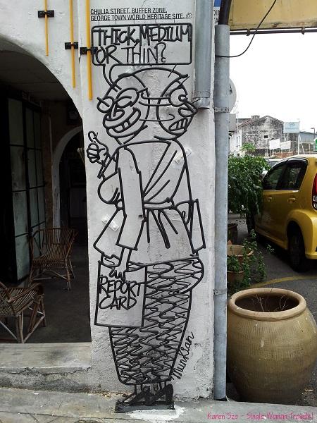 Street art found in Georgetown, Malaysia