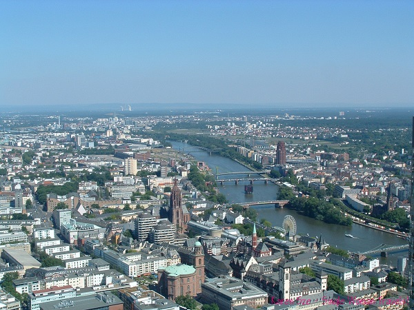 View of Frankfurt, Germany