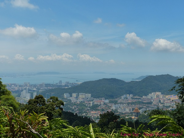 View of Georgetown, Penang, Malaysia