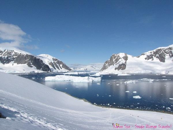 View of Neko Harbour, Antarctica