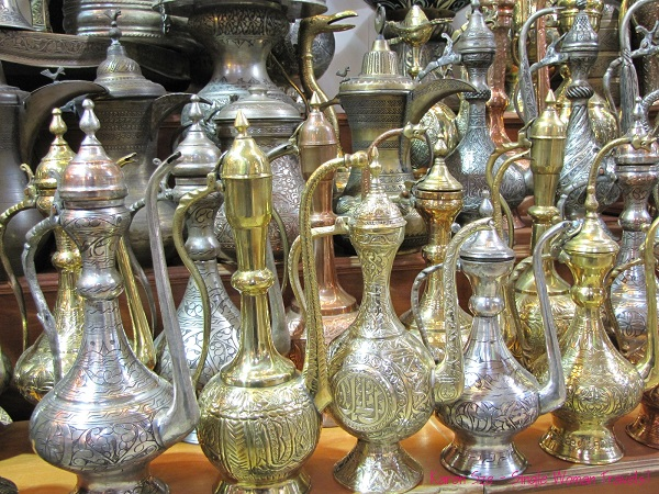 Decanters from Grand Bazaar, Istanbul, Turkey