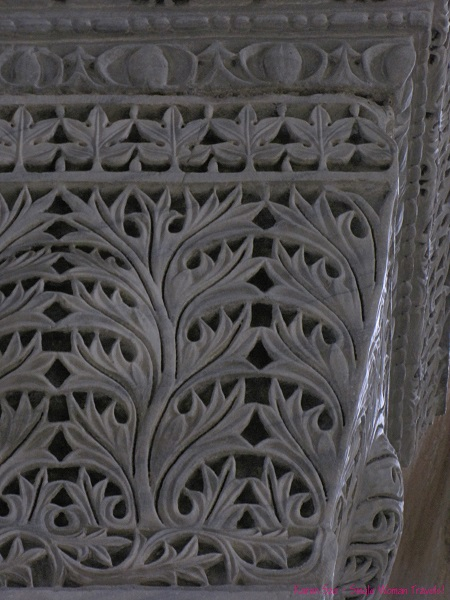 Intricate stone carving from Turkey