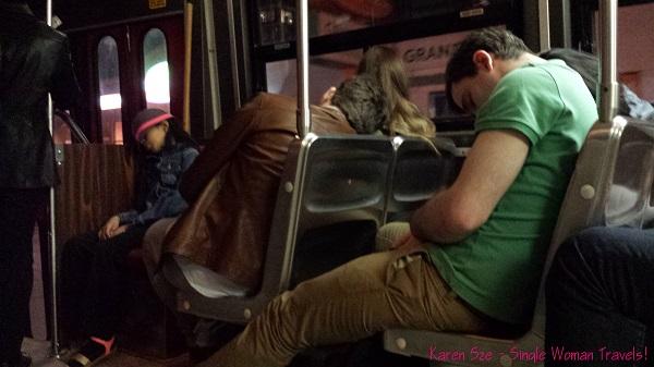Lights out on Toronto streetcar