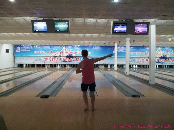 `Midnight bowling and cheap beers in Luang Prabang, Laos