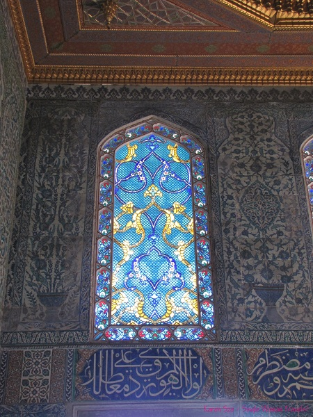 Stunning stained-glass work found inside palace in Istanbul, Turkey