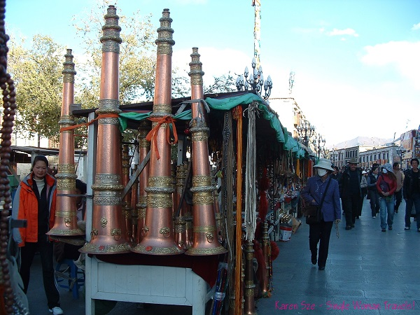 Tibetan horns are integral to traditional Tibetan music and ceremonies