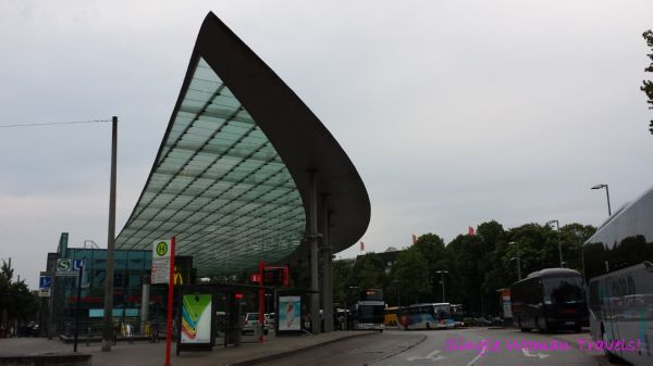 Hamburg ZOB - main bus station