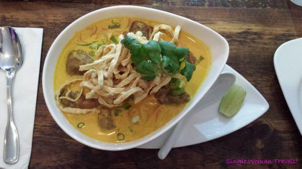 Khao Soi from Sukhothai Toronto