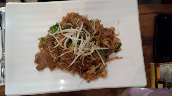 Pad Thai from Sukhothai Toronto