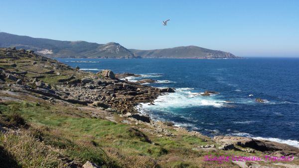 Cape Finisterre Spain coastline