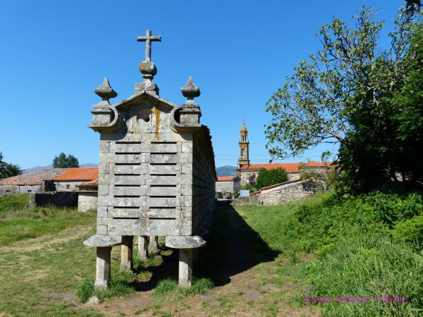 Longest granary in Galicia Spain
