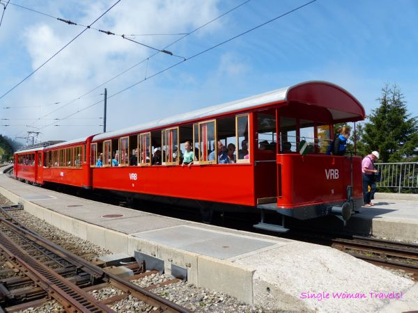 Mt Rigi Train in Switzerland
