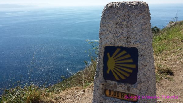 0 km at Finisterre Spain St James Way Camino de Compostela