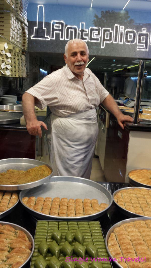 Baklava maker from Hatay Turkey