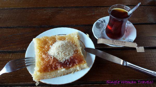 Delicious local dessert Laz Boregi