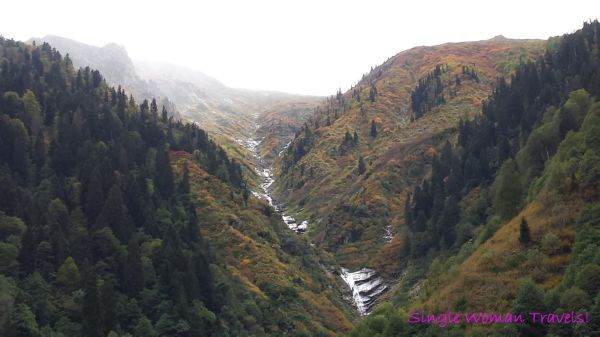Fall colours on Kackar mountains Ayder Turkey