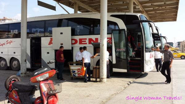 Inter city bus travel is prevalent in Turkey
