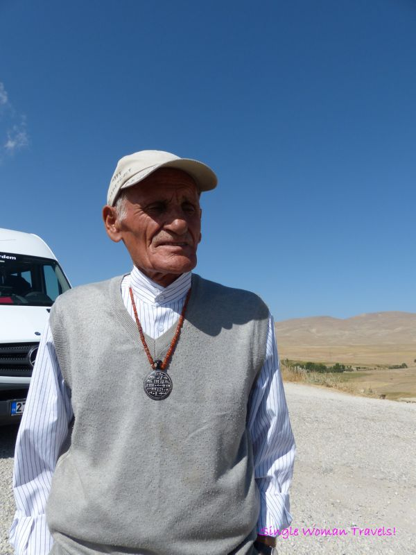 Mehmet Kuşman spoke to me in Urartian Lake Van Turkey